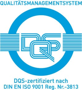 DQS-certified according to DIN EN ISO 9001 Reg. No.-3813