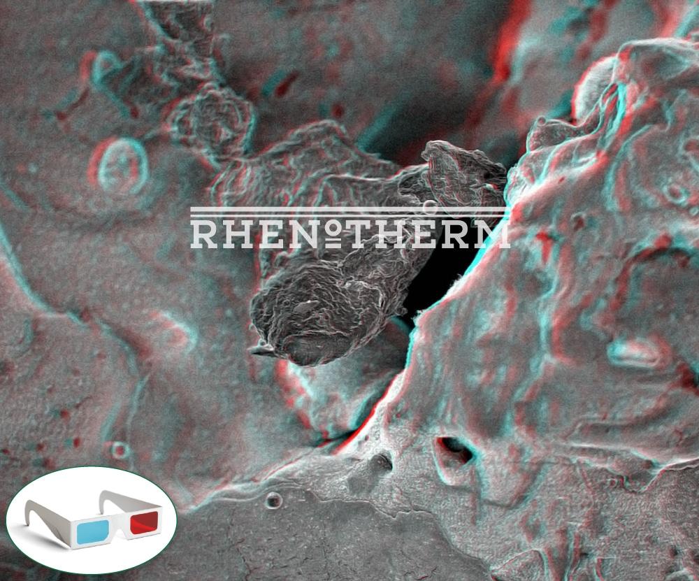 Antihaftbeschichtung als 3D Bild