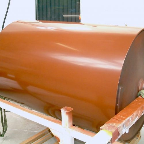 Coating of rolls - no product deposits - considerably longer service life - electr. Conductivity possible