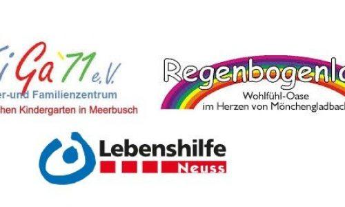 Kita Farbenland Meerbusch, Kiga 71 e.V Meerbusch und KiTa Regenbogenland Mönchengladbach