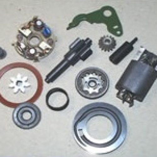 Injection pumps, disc spring, coal quiver, door lock, retaining pin, raceway, external rotor